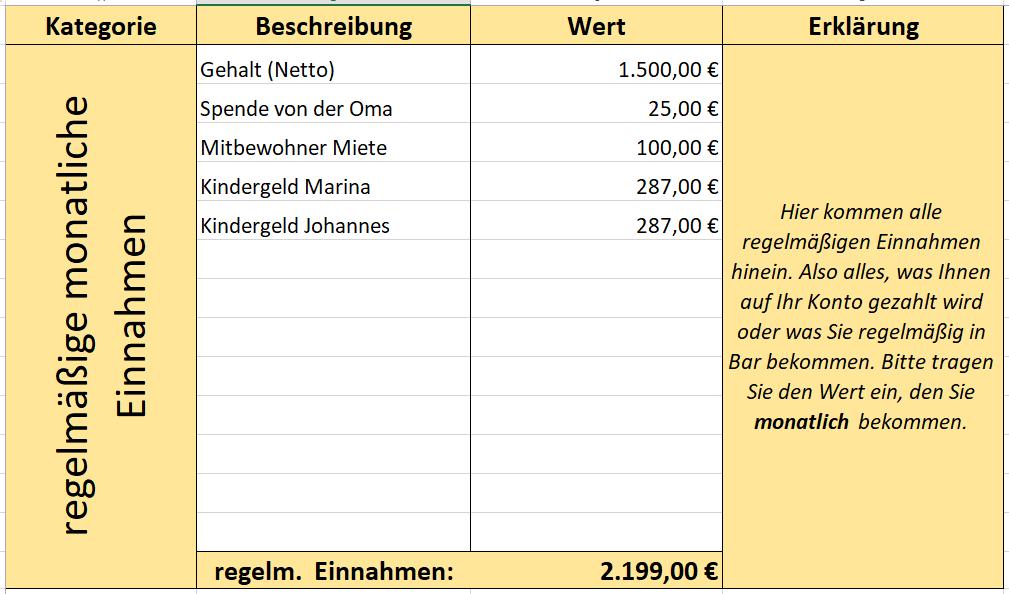 Blog Einnahmen Und Ausgaben Mit Excel Erfassen